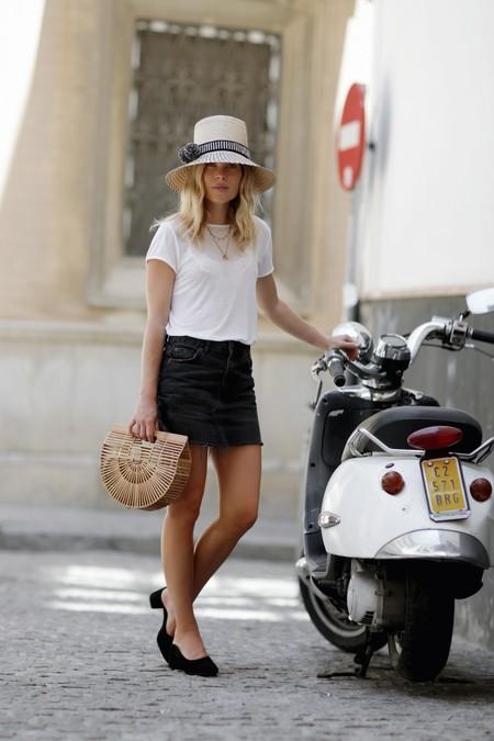 verano ciudad sombrero