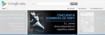 Los libros también llegan al Google Play español
