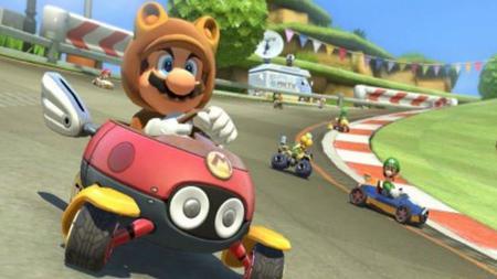 Presentan traje  tanooki en nuevo DLC para Mario Kart 8