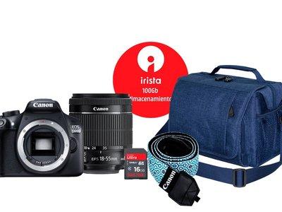 Día de la Madre: Mediamarkt tiene el mejor pack para inciarse en la fotografía reflex con la Canon EOS 1300D