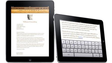 iWork para el iPad se actualiza para la nueva versión de su iOS