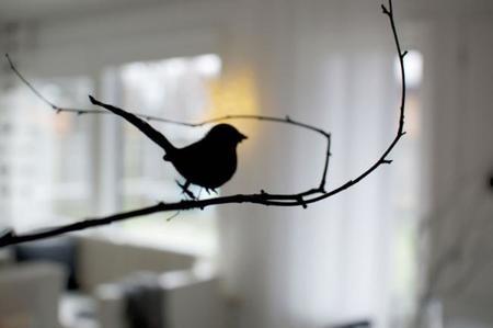 Hazlo tú mismo: Un original centro para la mesa de Año Nuevo con pájaros
