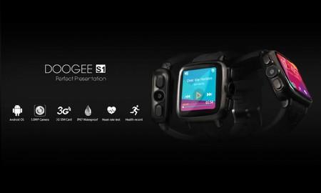 Venta Flash: Doogee S1, el smartwatch con 3G, por 82,15 euros y envío gratis