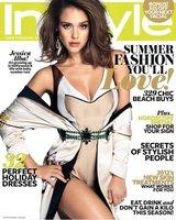 Jessica Alba más macizorra y guapa que nunca en la portada de 'InStyle'
