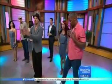 Channing Tatum y Jamie Foxx se mueven con sabrosura mamita
