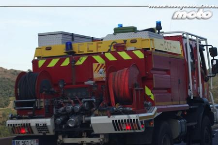 Rodada Circuit du Rossellon coche bomberos