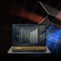 Worten tiene un portátil gaming grande y potente como el ASUS TUF Gaming A17 FA706QM-HX001 con RTX3060 y 17 pulgadas por 268 euros menos