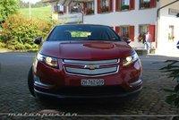 Chevrolet Volt, presentación y prueba en Suiza