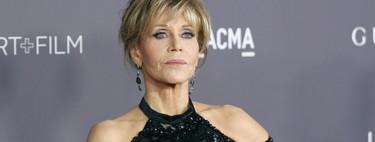 I woke up like this! Jane Fonda es todas nosotras después de una noche de fiesta