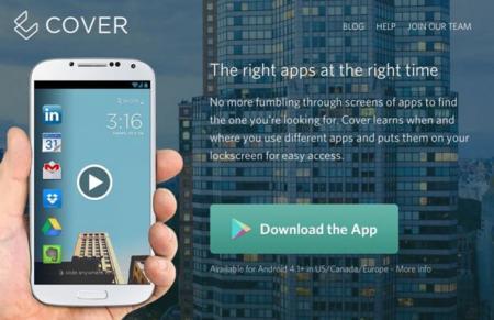 Twitter compra Cover, una pantalla de bloqueo para Android que gestiona nuestras aplicaciones
