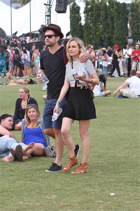 Diane Kruger Coachella 2014 mejor vestidas
