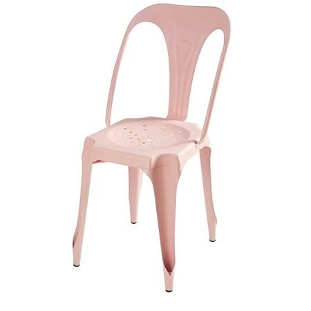 Silla Industrial De Metal Rosa Pastel 1000 14 18 165781 1