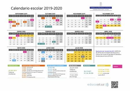 Calendario Escolar 2019 2020 Qué Día Empiezan Y Terminan