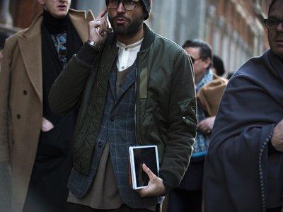 El mejor street-style de la semana: sumar capas de abrigo es sumar estilo