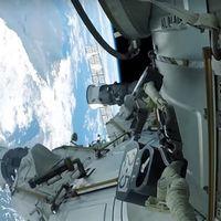 Esto es lo que ve un astronauta en primera persona en un paseo espacial