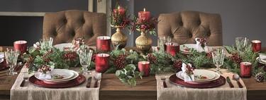 Inspírate para montar una mesa de Navidad única con estos tres estilos decorativos
