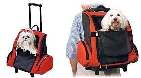Pet Wheel-Away, mochila para viajar con perros