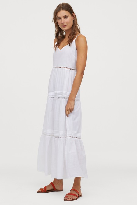 Dakota Johnsson Vestido Blanco 7