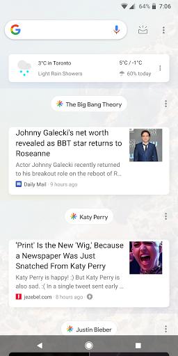 Test del nuevo Feed de la Google app