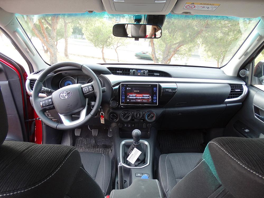 Foto de Probamos el Toyota Hilux, interiores con todas las imágenes (25/39)