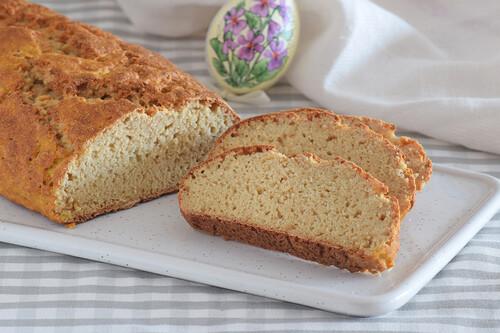 Pan casero para torrijas más saludable: receta fácil y rápida rica en fibra y proteínas