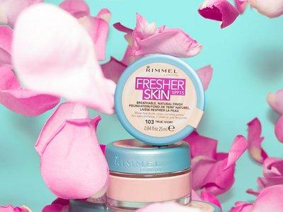 ¿Una base de maquillaje en gel?: sí, es la nueva 'Fresher Skin Foundation' de Rimmel London