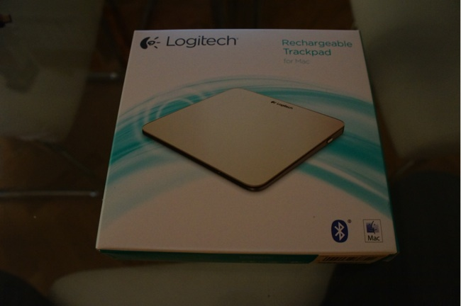 Caja del Logitech Rechargeable Trackpad