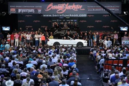 Se subasta el último Ford Shelby Convertible