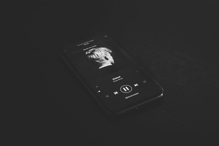 Spotify Iphone Negro