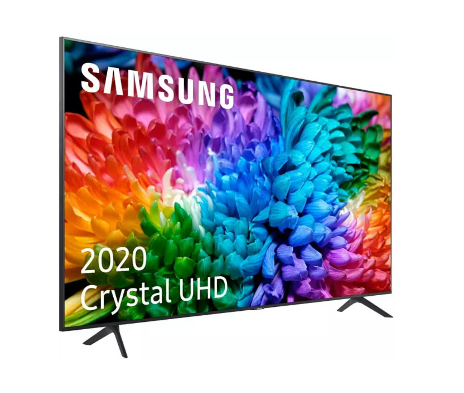 "TV LED 65"" - Samsung Crystal UHD 65TU7125, Smart TV, 4K Real y HDR10+, Compatible Asistentes de Voz, Tap View"