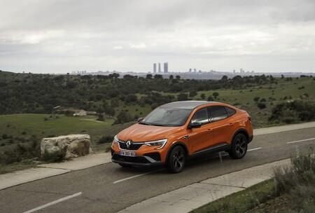Renault Arkana E Tech 2021 Prueba 048