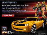 Gana uno de los tres Chevrolet Camaro Bumblebee