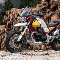 Así de espectacular luce la Moto Guzzi V85 TT en sus primeras imágenes: toda una trail clásica