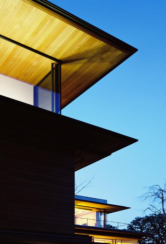 Foto de Kidosaki Architects, casa rural japonesa (II): residencia y galería de arte (1/5)