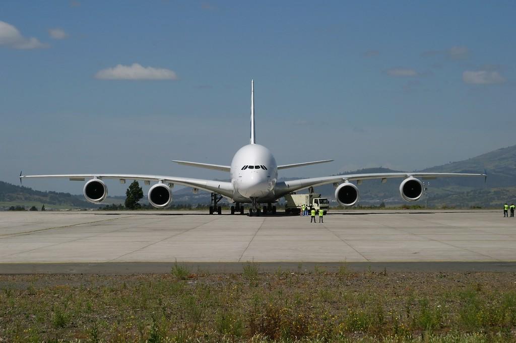 A380 Wingspan