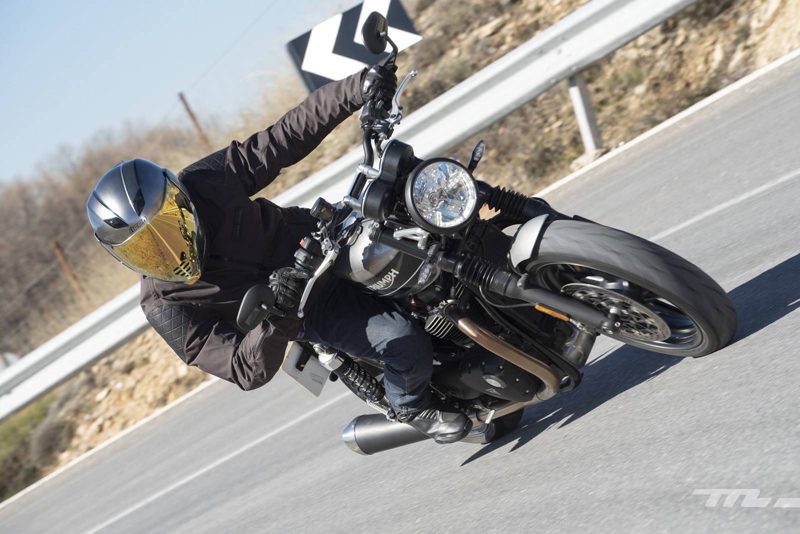 Foto de Triumph Speed Twin 2019, prueba (1/80)