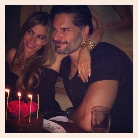 Mira tú qué bien celebra cumpleaños Sofia Vergara junto a Joe Manganiello