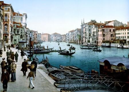 La Venecia clásica, antes de la invasión turista, en maravillosas imágenes a todo color
