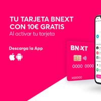 10 euros gratis de saldo al activar tu tarjeta sin comisiones Bnext