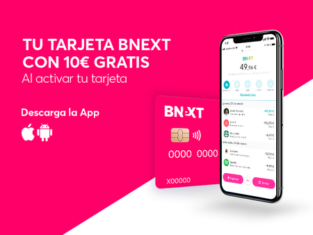 Bnext Cuenta Sin Comisiones 10 Euros Gratis