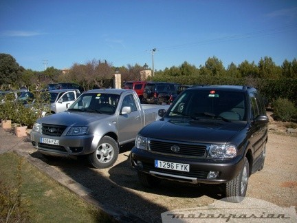 Tata Xenon y Grand Safari