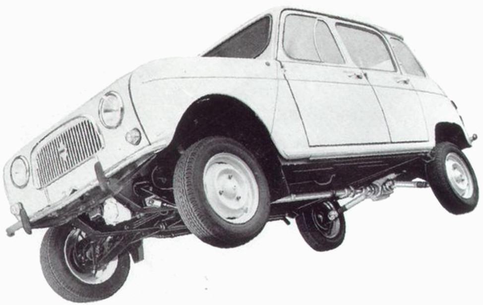 Renault 4l Todoterreno 4x4
