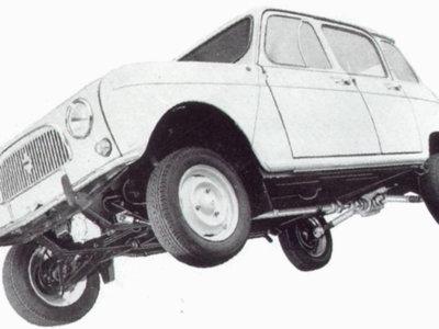 Renault 4L, porque para hacer off-road no necesitas más (y este vídeo lo prueba)