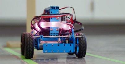 Estos robots podrían estar controlados con bacterias