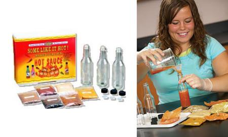 Kit para crear salsas picantes