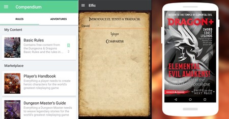 Aplicaciones Rol Android