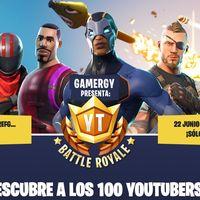 ElRubius y LVP se alían para crear el Youtube Battle Royale de Fornite en Gamergy
