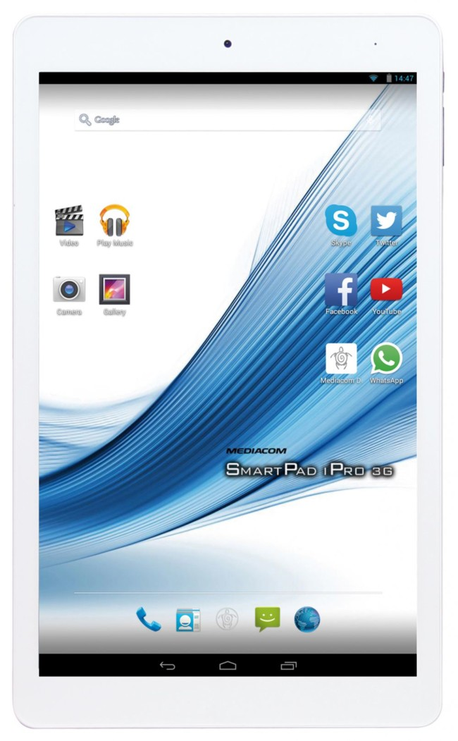 Mediacom SmartPad IPro, a New Range of Economic Tablets with Chipset Intel Atom X 3