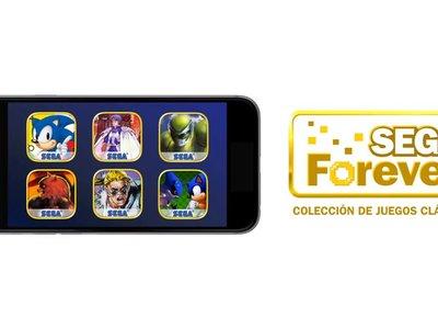 SEGA Forever: Los juegos clásicos de Mega Drive llegan de manera gratuita a los móviles