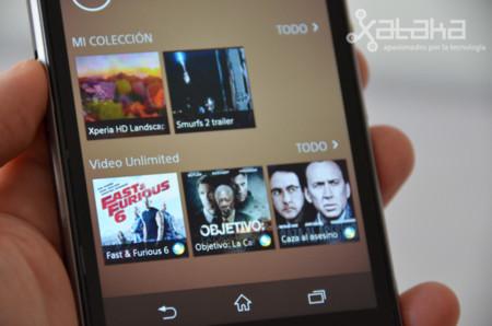Sony Xperia Z1 pantalla